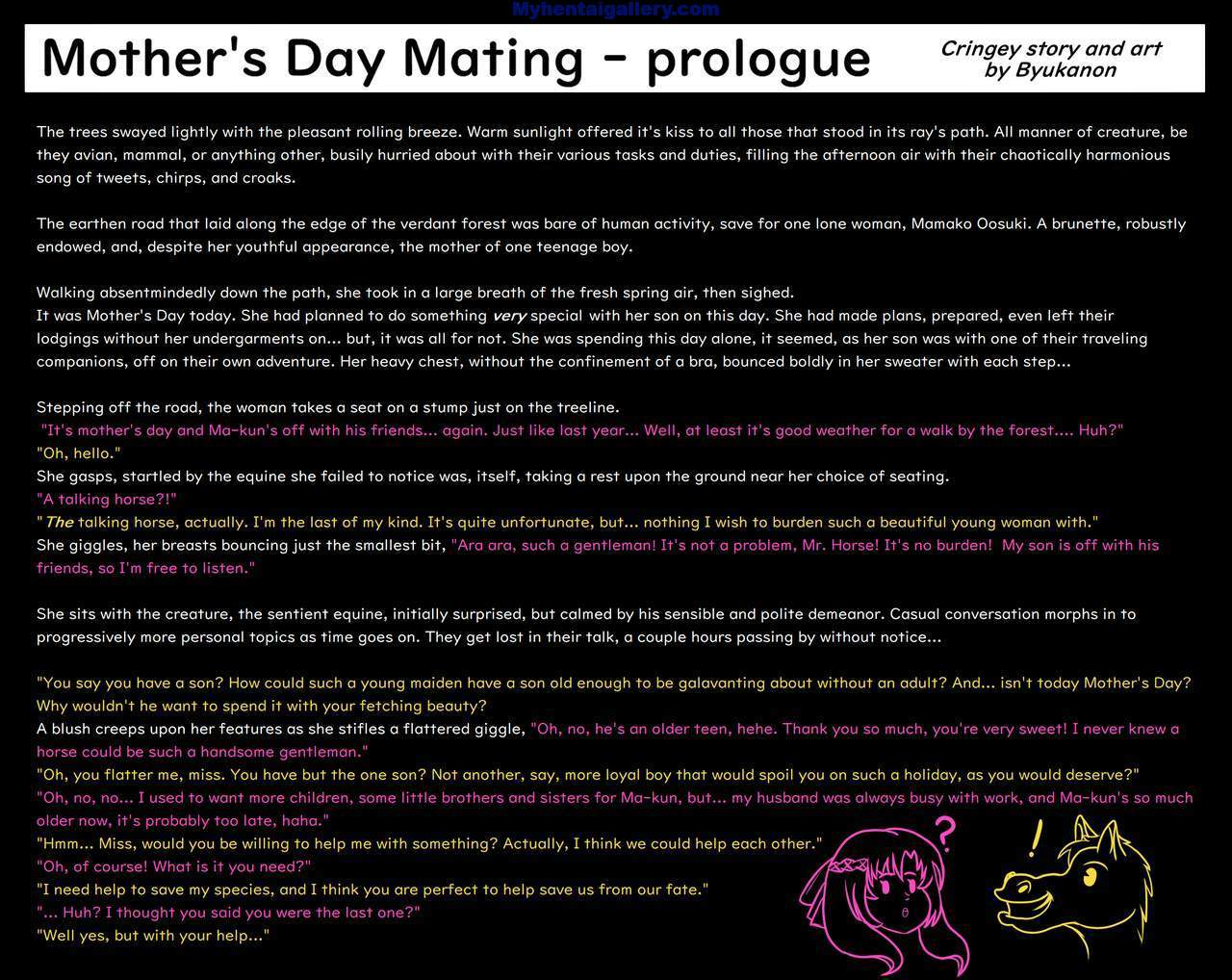 Mother's Day Mating