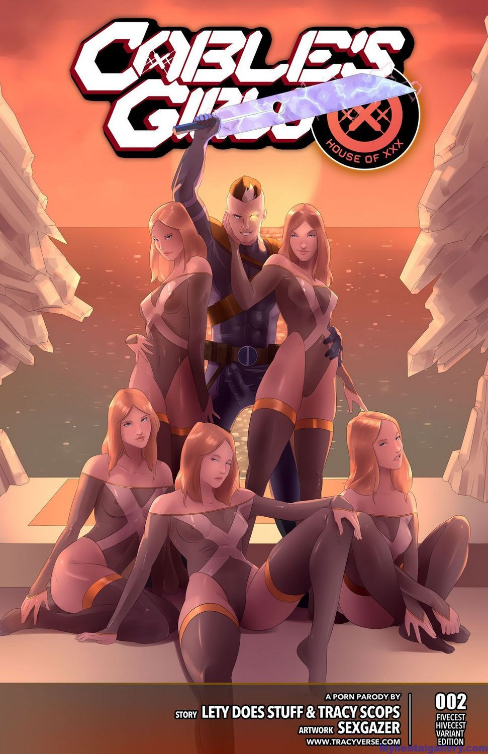 House Of XXX - Cable's Girls 2