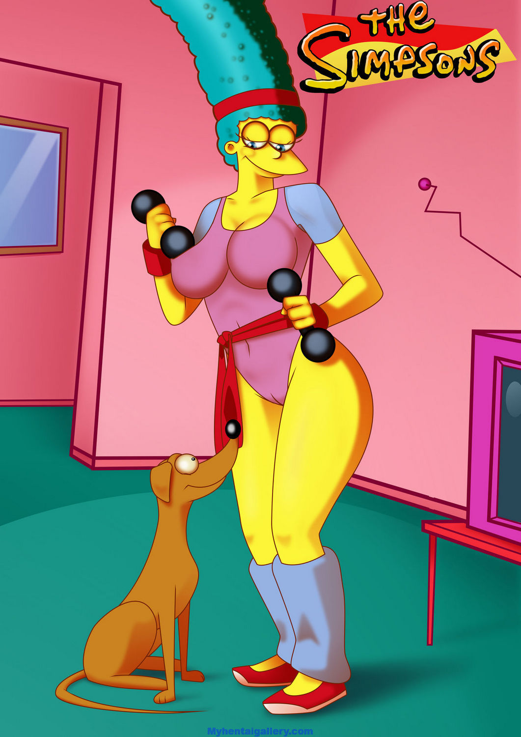 The Simpsons XXX - The Love Of Marge Simpson 2