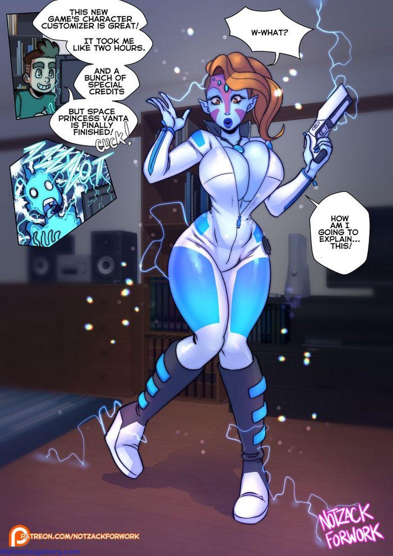 Space Princess Vanta